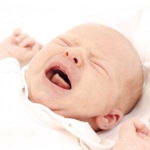 bébé crise