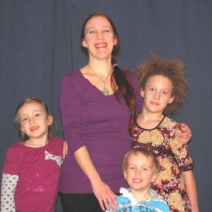 Chantale Richer et ses enfants Crédit: Pascal Page
