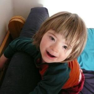 Mon aîné, Éli, 4 ans.