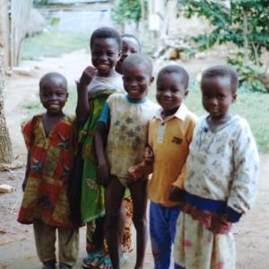 Des enfants  que j'ai rencontrés au Togo (Afrique de l'Ouest).