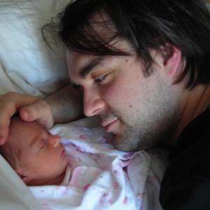 Martin et sa fille Lili-Jeanne