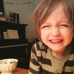 Dur de croire que ce petit garçon de 3 ans deviendra un jour adolescent.  Photo: Marie Custeau