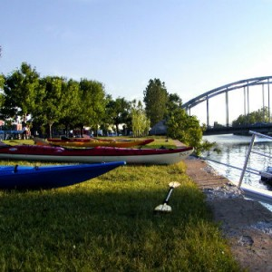 Promenade en kayak sur le canal Lachine Crédit Aventures H2O