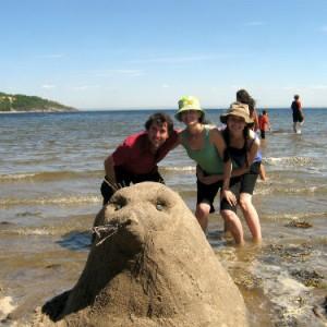 La plage de Tadoussac Crédit LiseGagnon