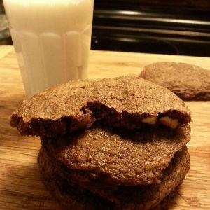 Biscuits aux deux chocolats de Rémy
