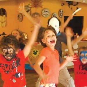 enfants-maison amerindienne