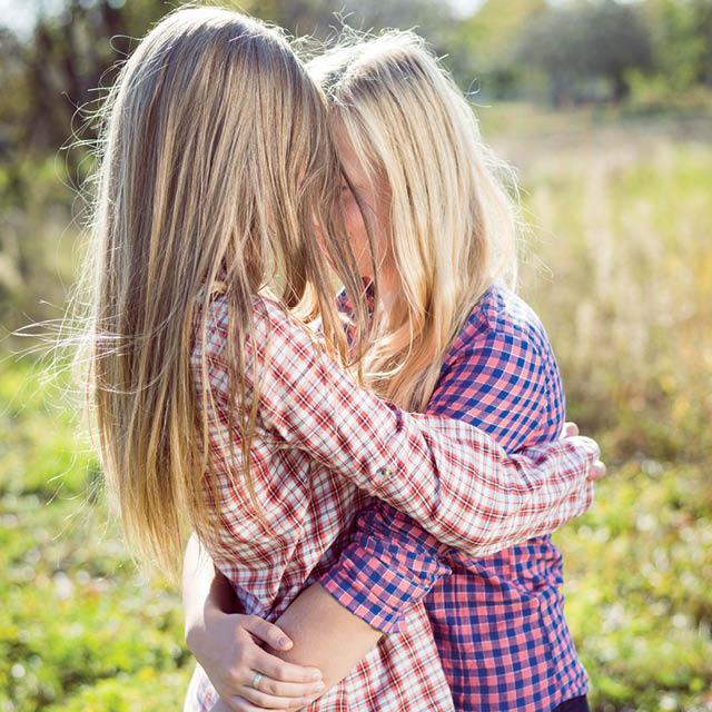 Les mamans lesbiennes et leurs filles