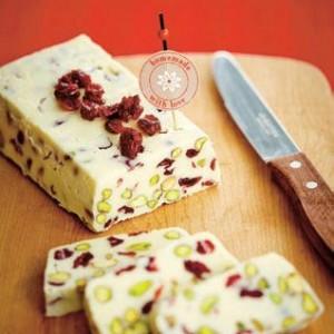 Fudge festif au chocolat blanc Crédit photo : Antoine Sicotte et les Éditions Cardinal