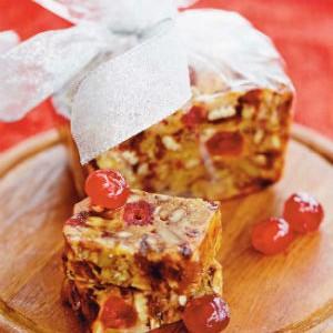 Le gâteau aux fruits Crédit photo : Antoine Sicotte et les Éditions Cardinal