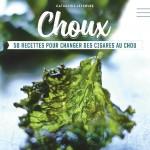 livre -Choux – 50 recettes pour changer des cigares au chou